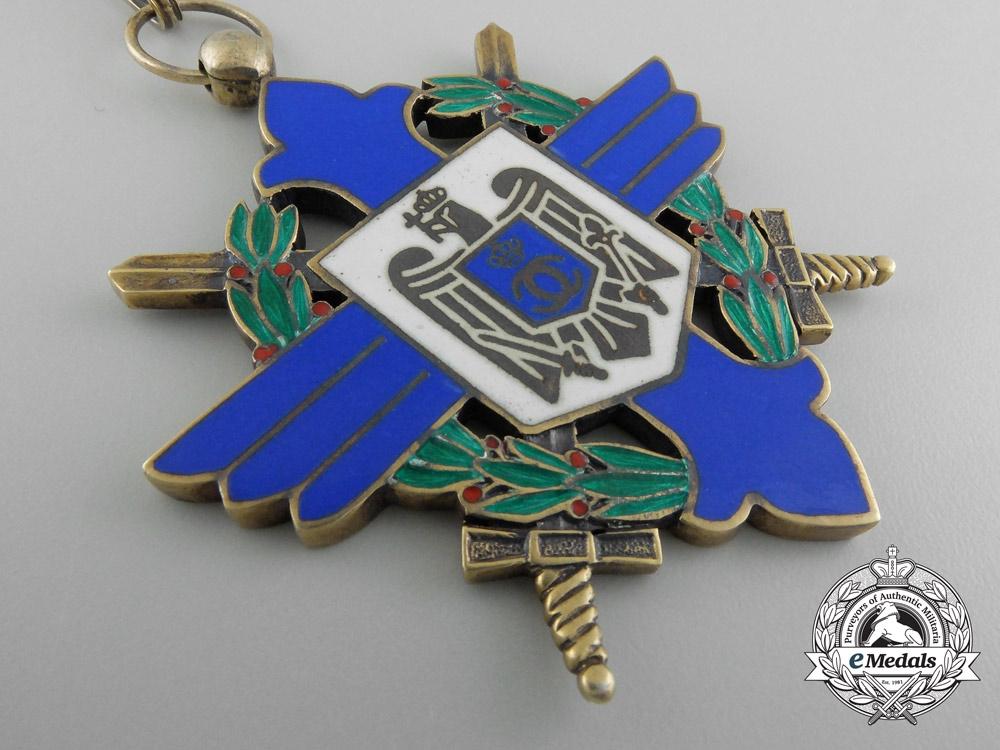 Romania, Kingdom. An Order of Aeronautical Virtues, Commander's Cross, c.1944