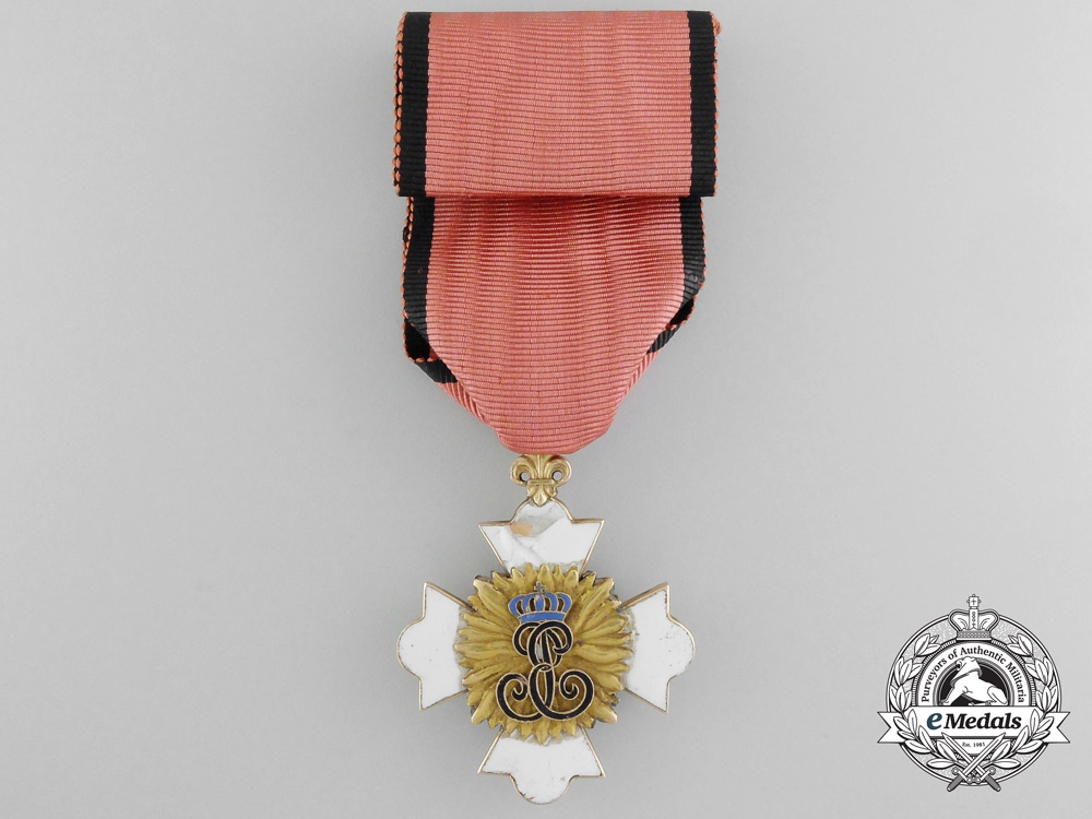 A Rare & Early Hohenlohe House Order of Phoenix c. 1780