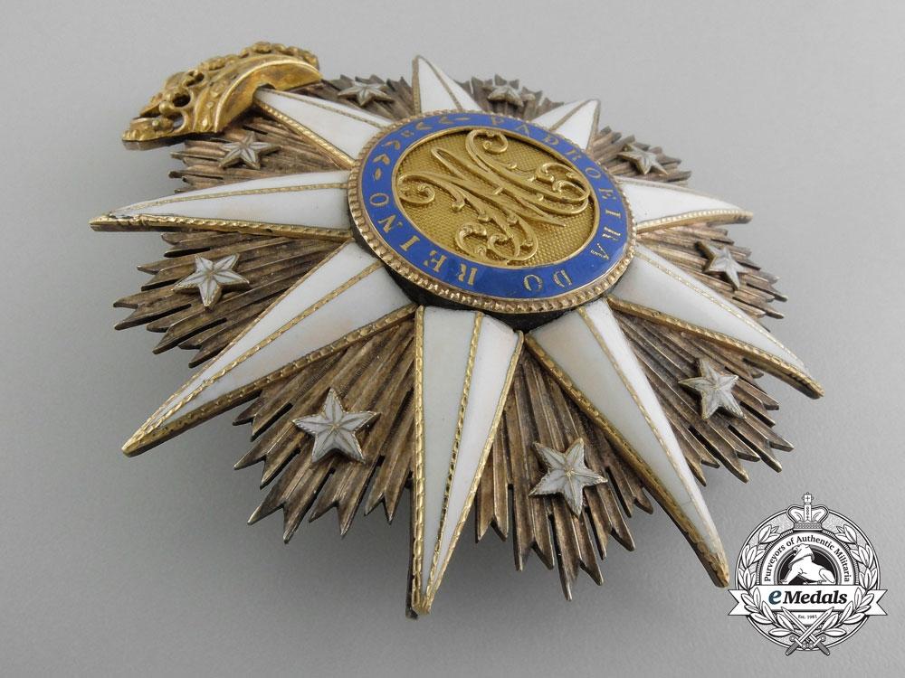 A Portuguese Order of Villa Vicosa; Grand Cross Star