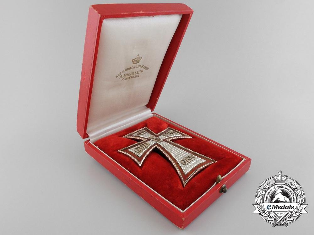 A Fine Danish Order of Dannebrog; First Class Star by A. Michelsen