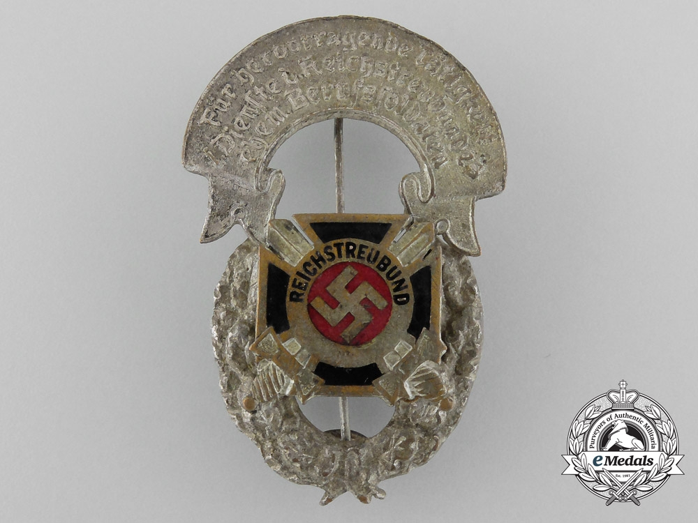 A Scarce Union of German Front-line Soldier Associations Badge