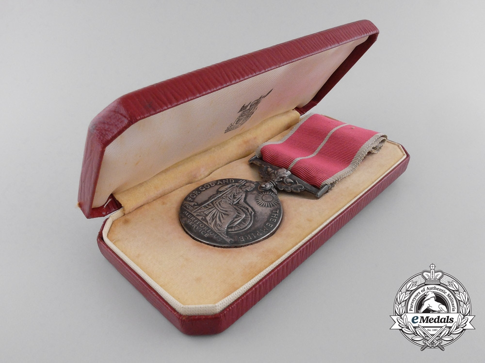 A Canadian British Empire Medal to the Black Watch during the Normandy & Holland Campaigns