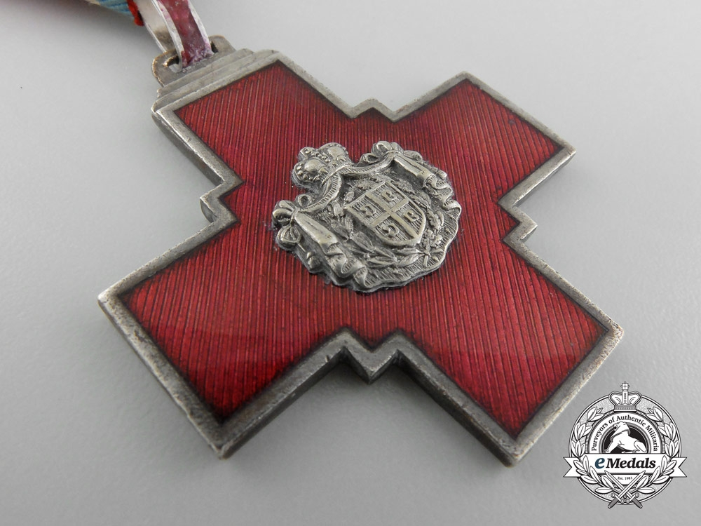 Serbia, Kingdom. A Decoration of the Serbian Red Cross, c.1880