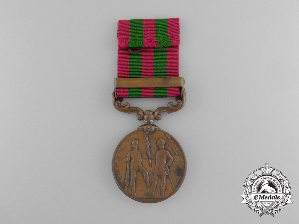An 1896 India Medal to the Construction Transport Department