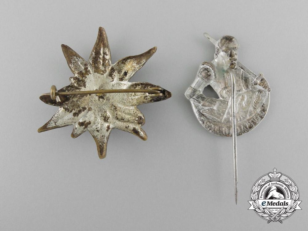 Germany, A Set of Two Civilian Membership Stick Pins