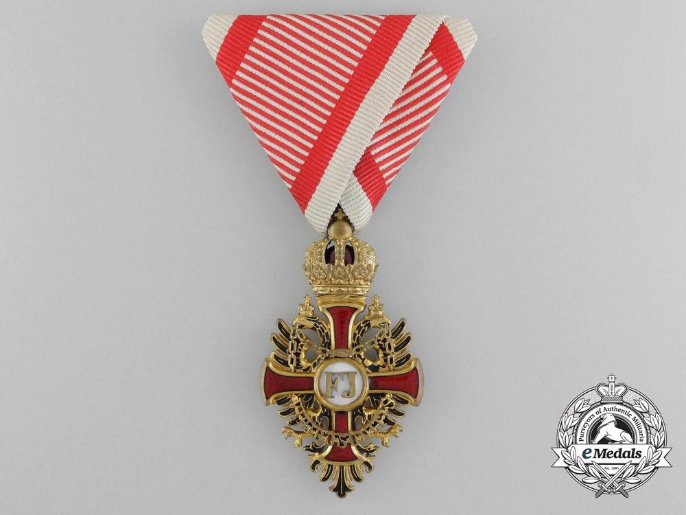 An Austrian Order of Franz Joseph by V.Mayer; Knight`s Cross
