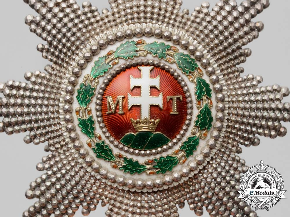 The Order of St. Stephen Grand Cross Awarded to Ferdinand I, Tsar of Bulgaria