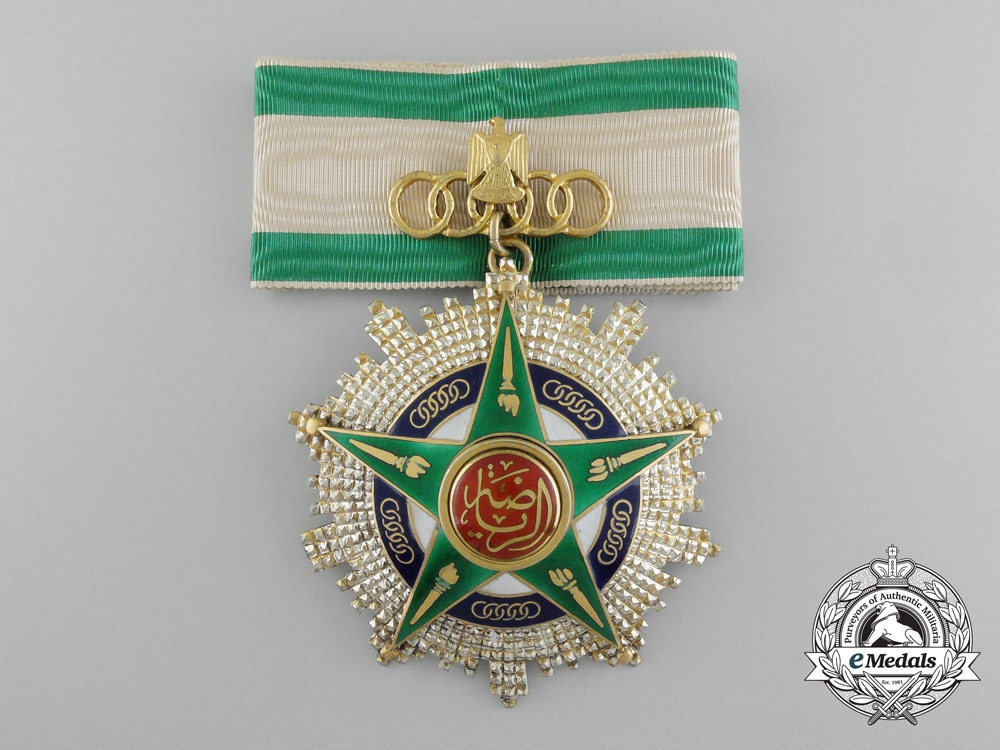 Egypt, Republic. An Order of Sport, I Class Commander, by Bichay
