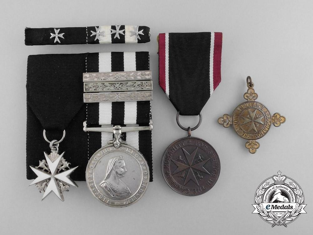 An Order of St. John Group to Lady Ambulance Officer Elsie Burn