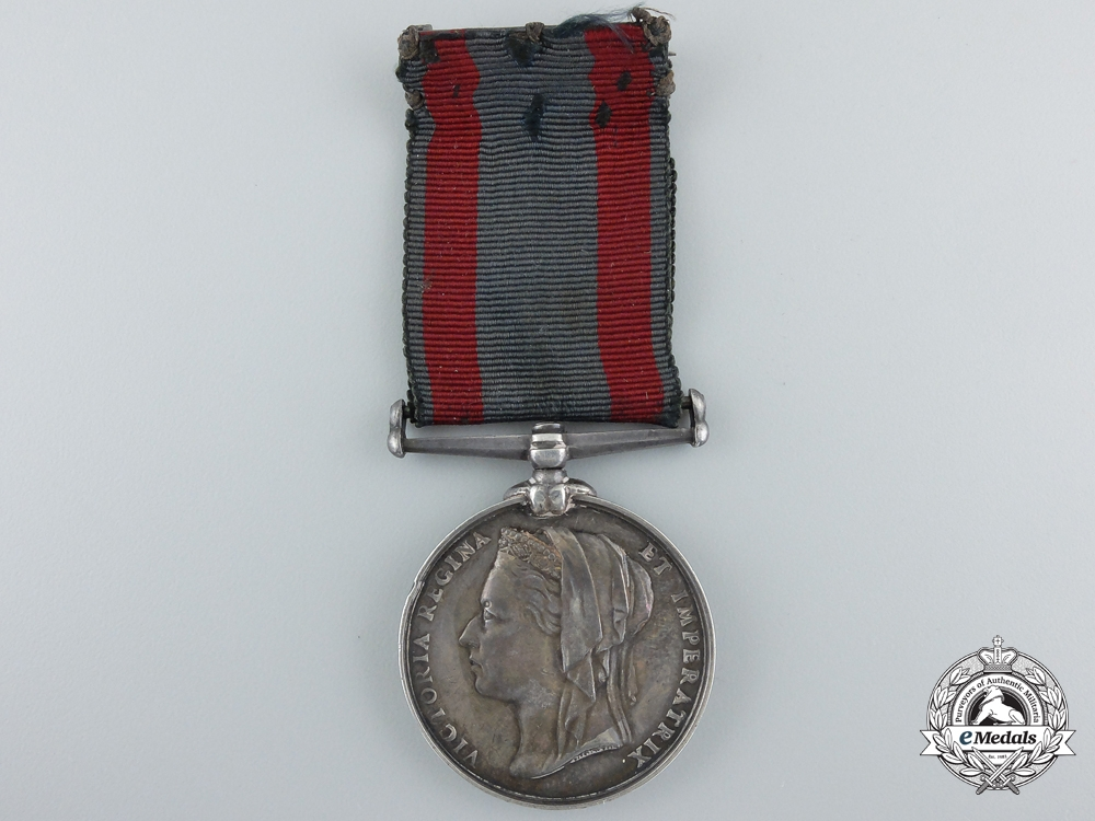 A North West Canada Medal 1885 to the Halifax Provisional Battalion