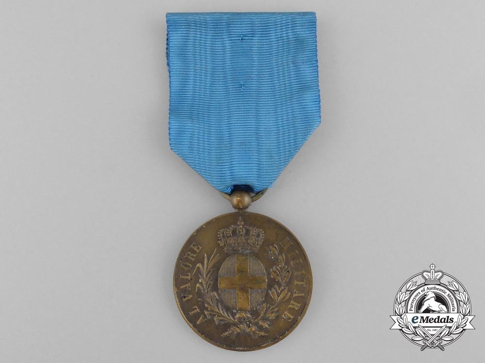 An Medal for Military Valour; Bronze Grade