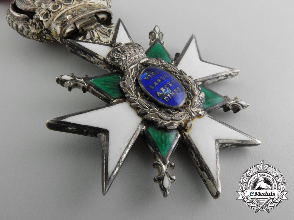 A Saxe-Weimar Order of the White Falcon; Knight Second Class