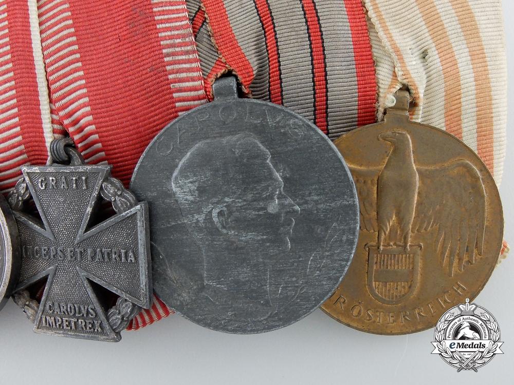 A First War Austrian Military Merit Cross Grouping