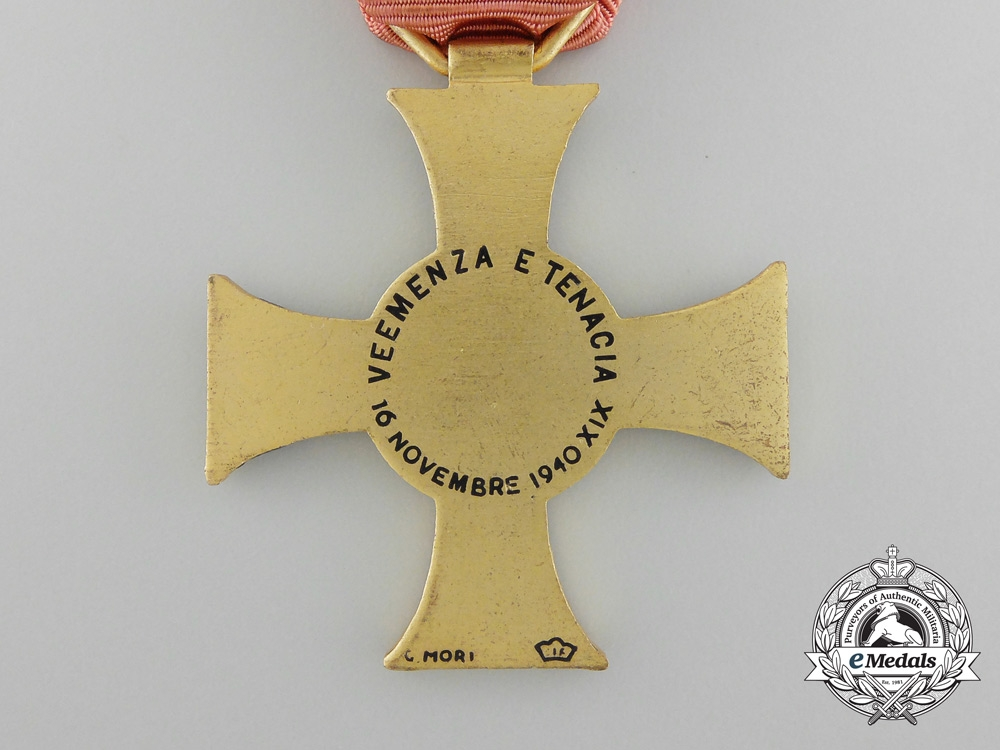 Italy, Kingdom. An 11th Army Cross, by G.Mori