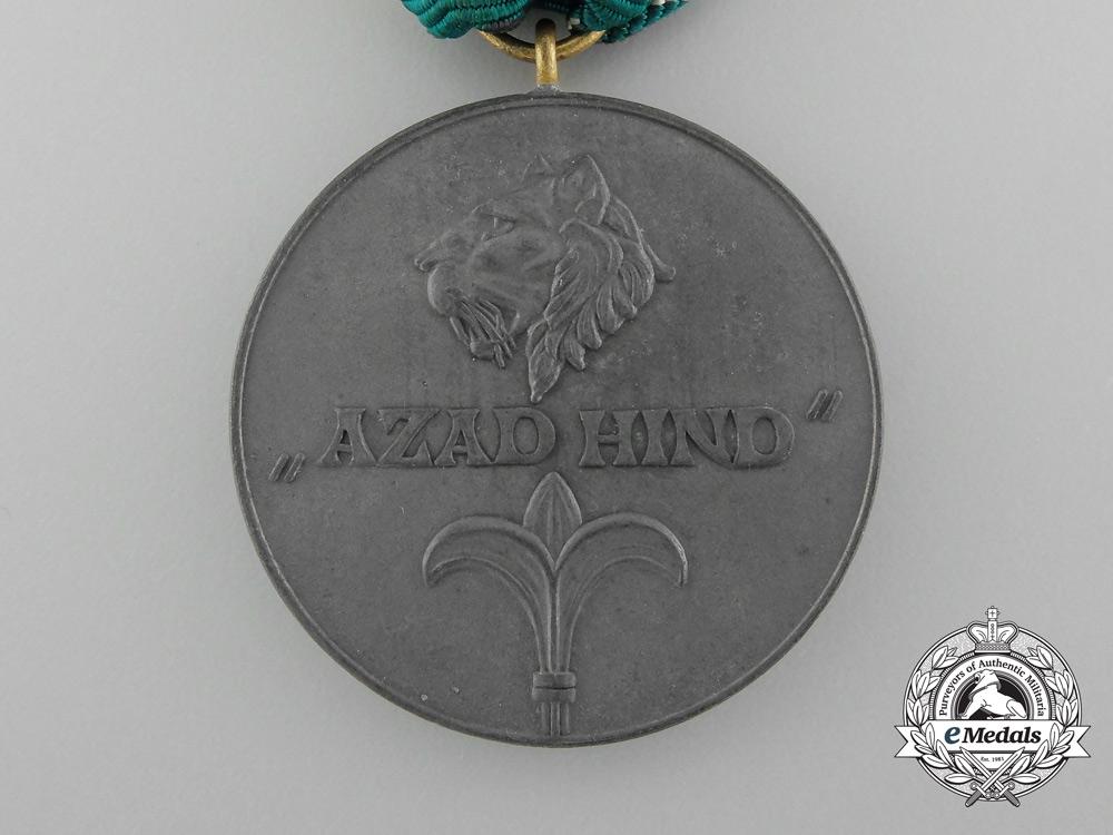 A Gold Grade Azad Hind Medal 1942-1945