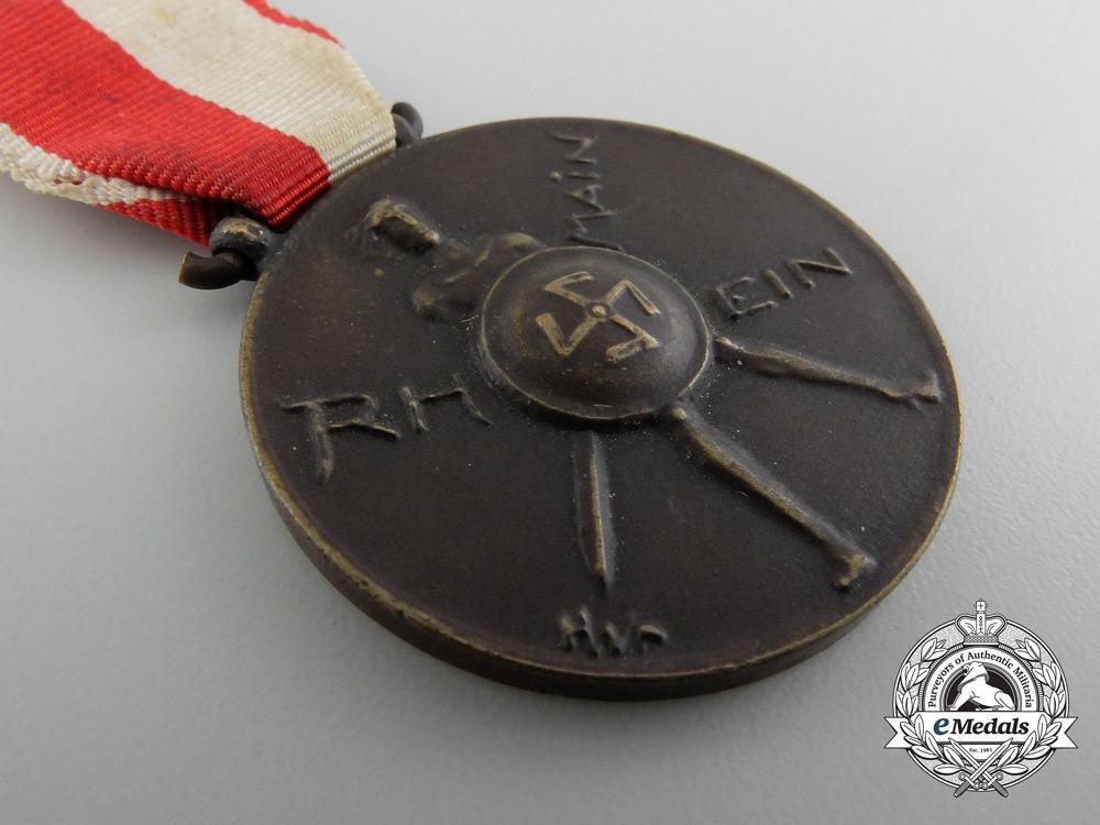 A Gau-Hessen-Nassau Commemorative Medal; The Old Leader Korps of the NSDAP