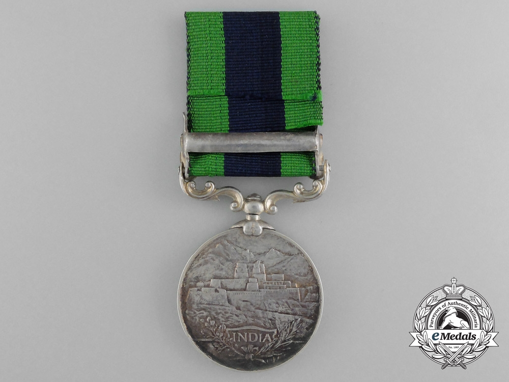An India General Service Medal to the 19th Army Transport Company