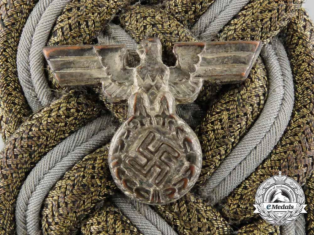 Germany, NSDAP. A Diplomatic Shoulder Board