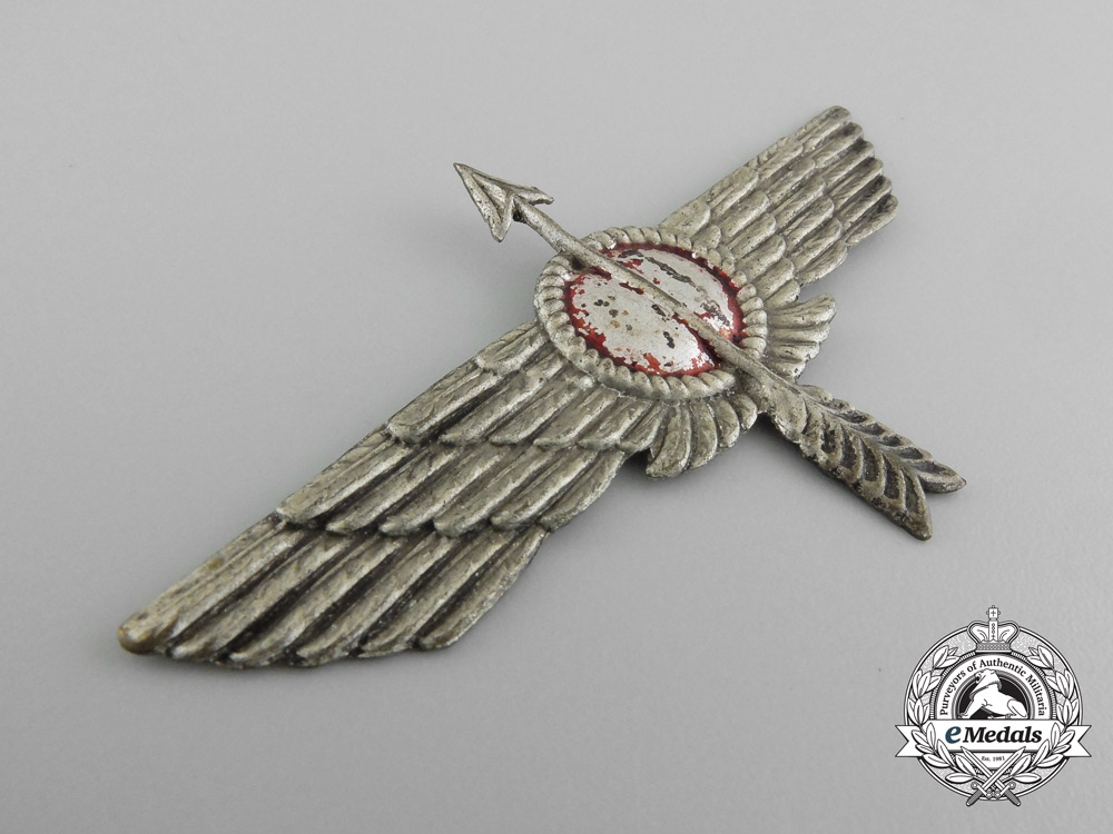 A Spanish Civil War Republican Air Force Fighter Pilot's Badge