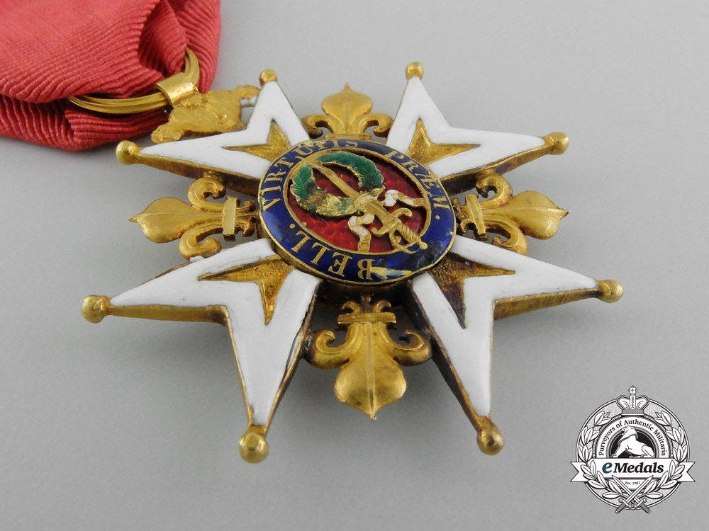 France, II Restoration. An Order of Saint Louis in Gold, Knight, c.1820