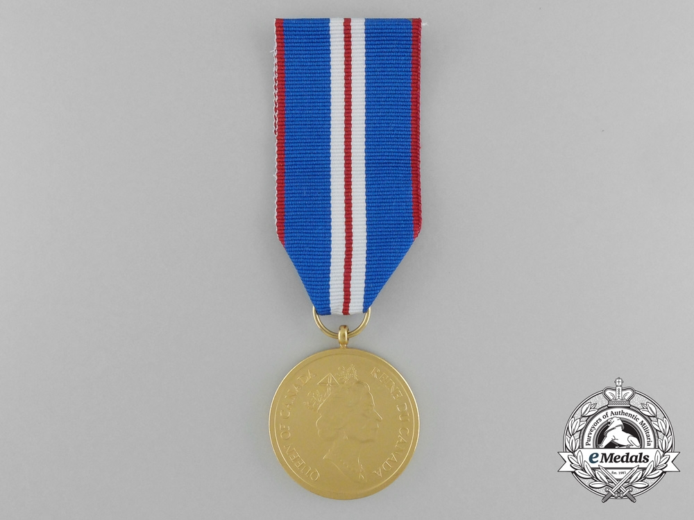 A Canadian Queen Elizabeth II Golden Jubilee Medal 2002 with Box