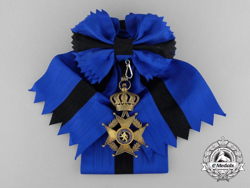 A Belgian Order of Leopold II; Grand Cross Set by P. DeGreef