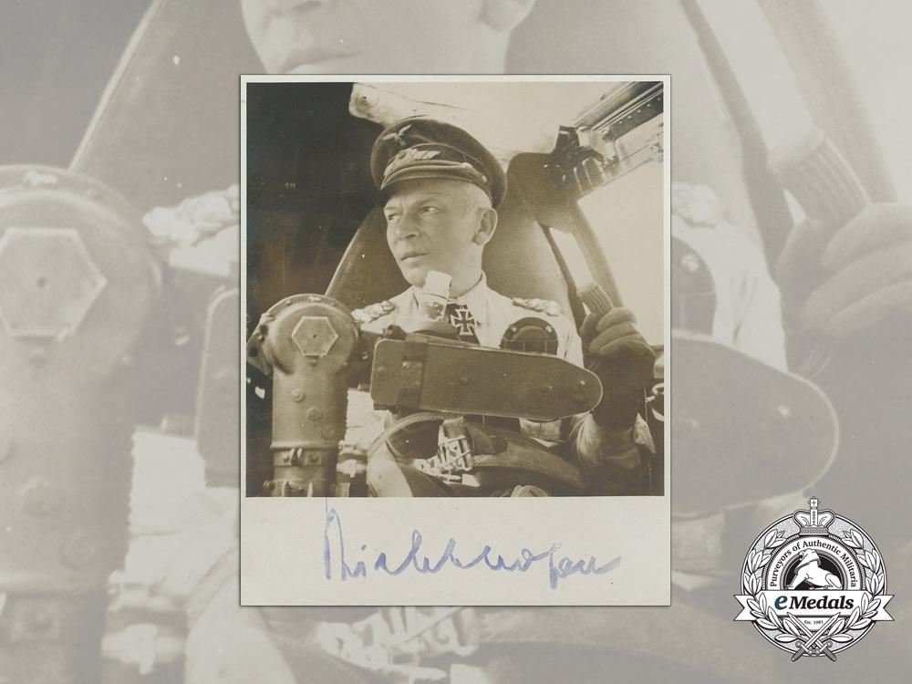 Luftwaffe Generalfeldmarschall von Richthofen Signed Photograph