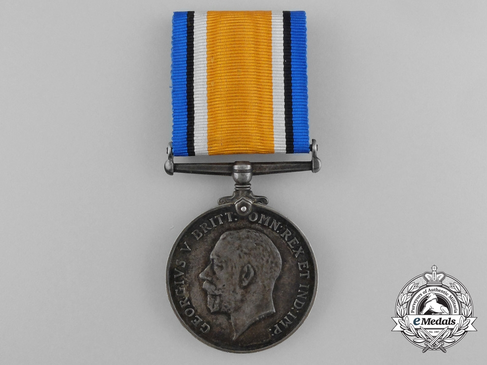 Canada. A War Medal to the 20th Infantry Battalion