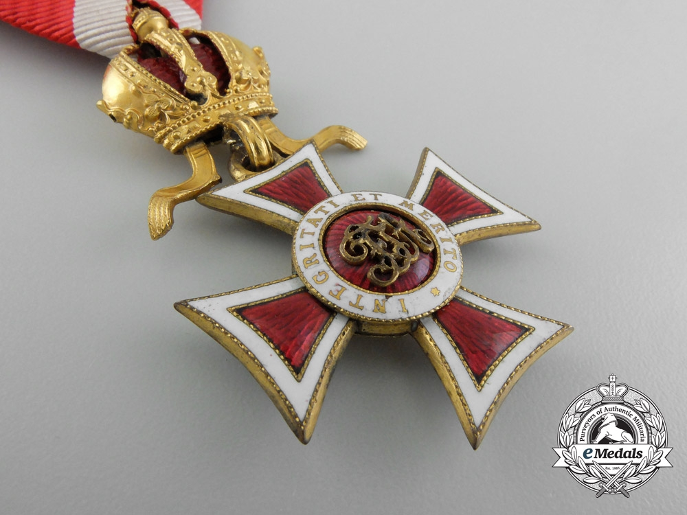 Austria, Imperial A Leopold Order with Commander's Decoration, c.1915