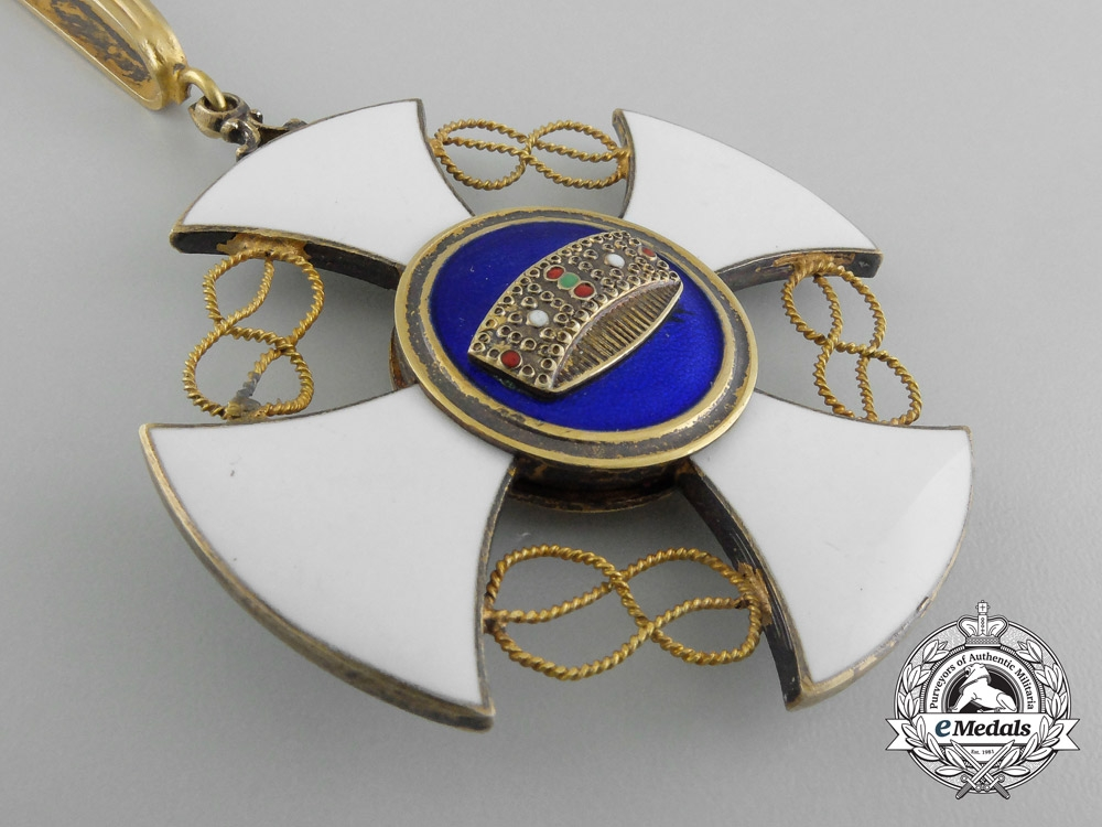 An Italian Order of the Crown; Commander's Cross