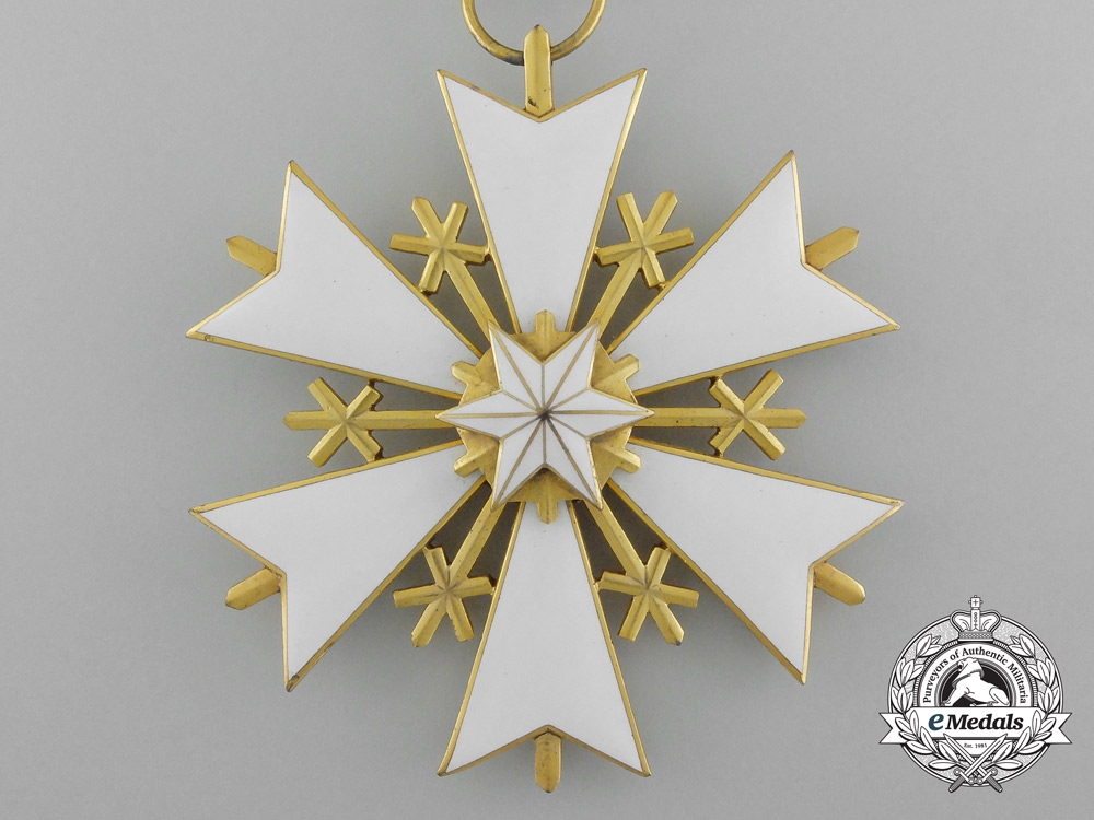 Estonia. An Order of the White Star, III Class, Commander's Badge