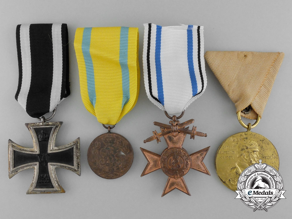 A lot of four prussian awards medals and decorations for Awards and decoration