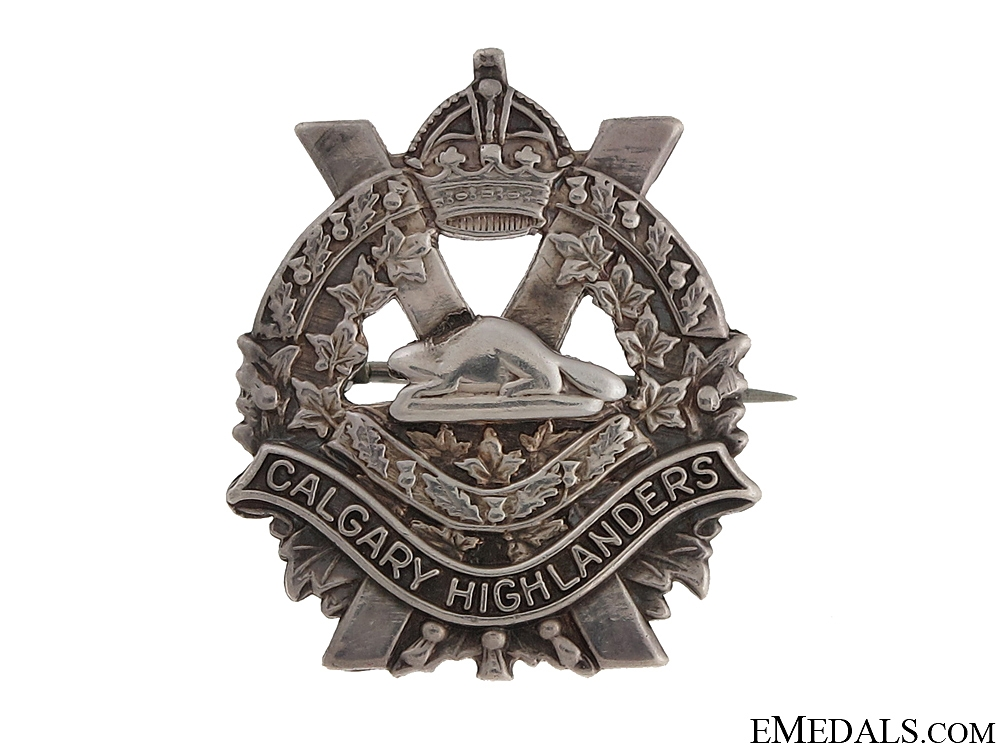Calgary Highlanders Sweetheart Pin