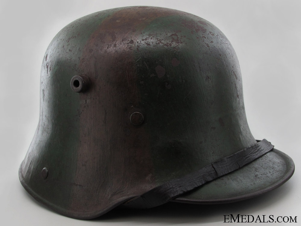Camouflage Stahlhelm M16