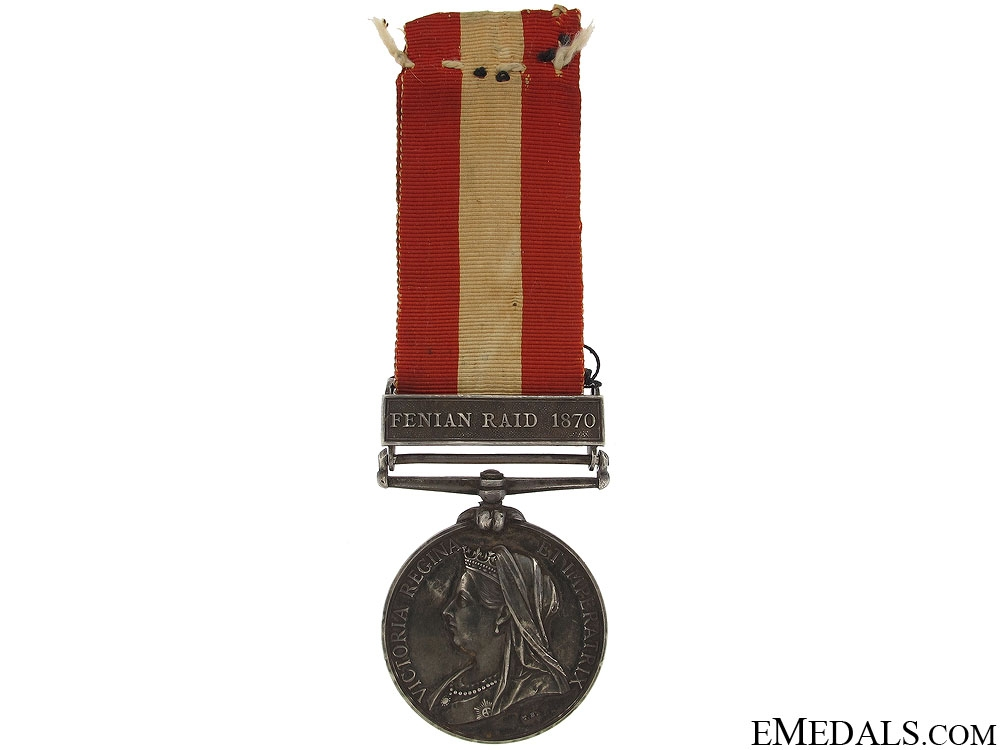 Canada General Service Medal 1870