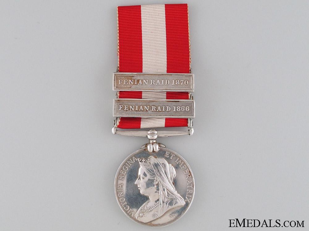 Canada General Service Medal 1866 & 1870