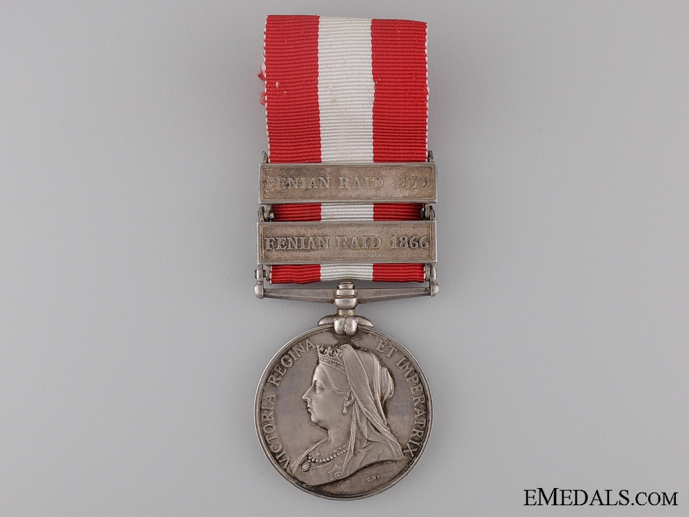 Canada General Service Medal to the 21st Battalion