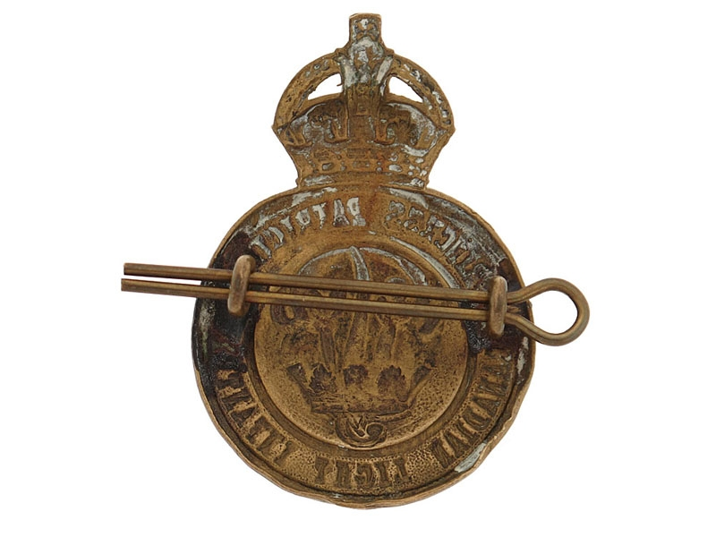 Princess Patricia's Canadian Light Infantry Cap Badge