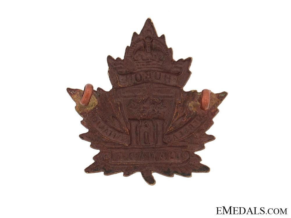 WWI 161st Infantry Battalion Cap Badge