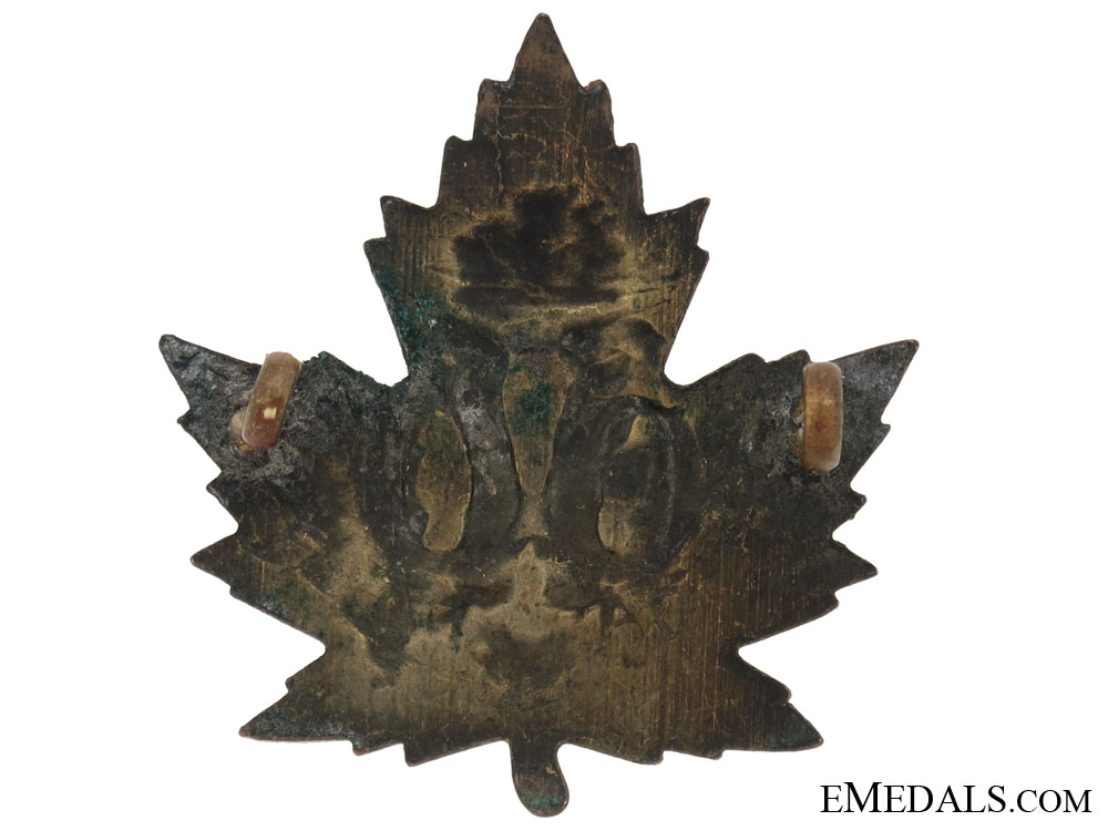 60th Battalion (Victoria Rifles of Canada) Cap Badge