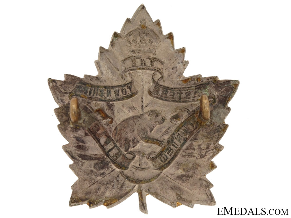 The Eastern Townships Mounted Rifles Cap Badge