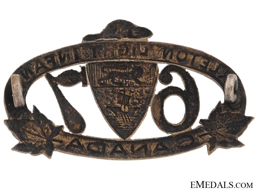 67th Regiment Carleton Light Infantry Officer's Collar Badge