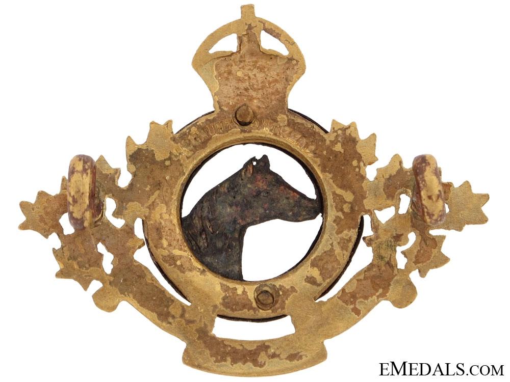 4th Hussars Collar Badge