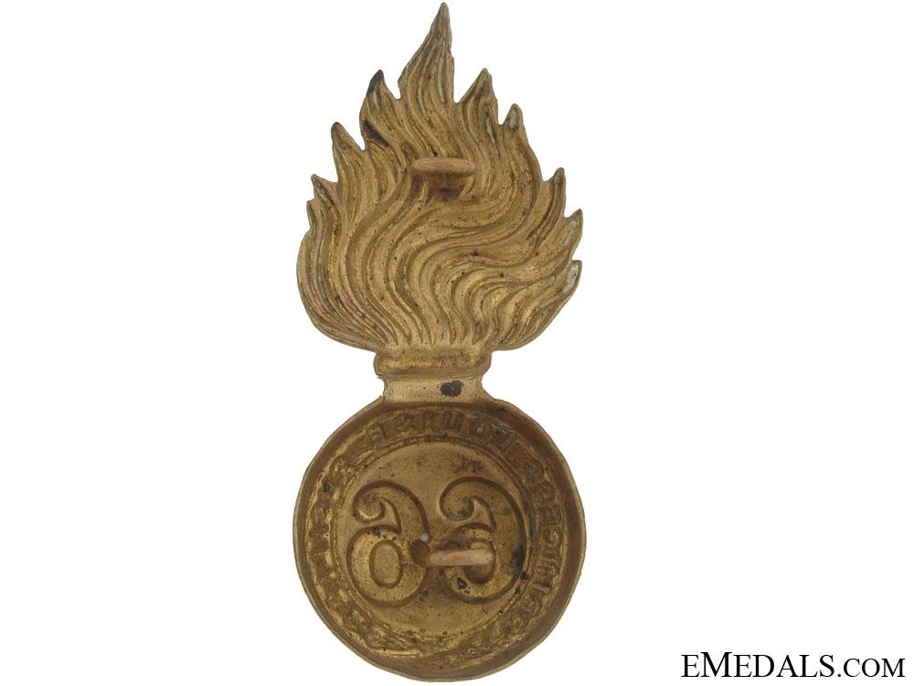 66th Princess Louise Fusiliers Badge