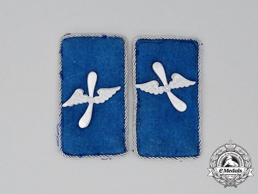 A Matching Set of SA Flying Corps Collar Tabs