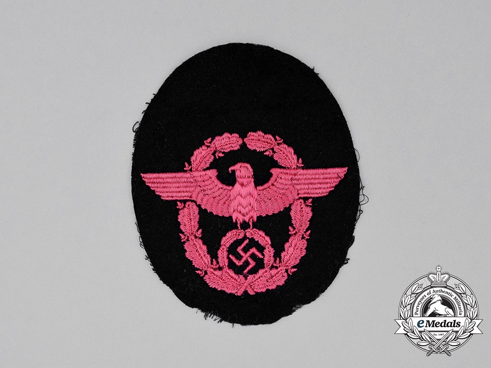 Germany, Third Reich. A Fire Police Sleeve Patch