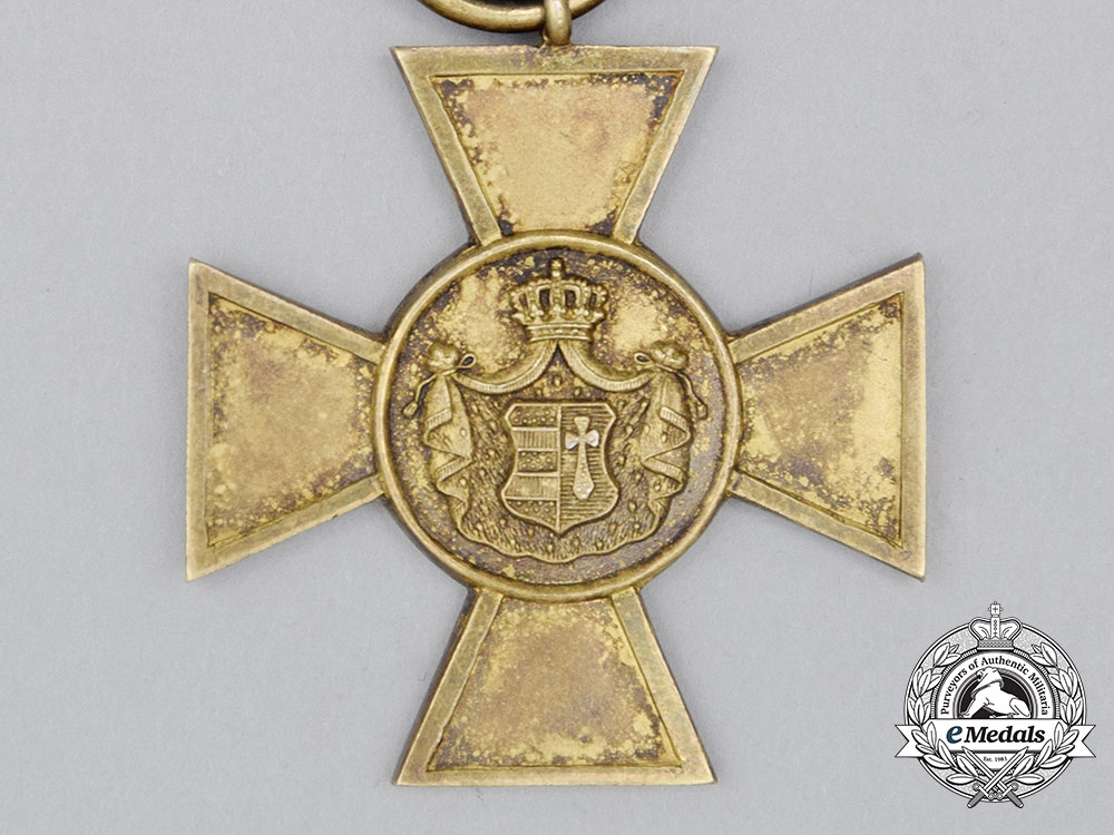 Oldenburg, Grand Duchy. A House & Merit Order, Honour Cross