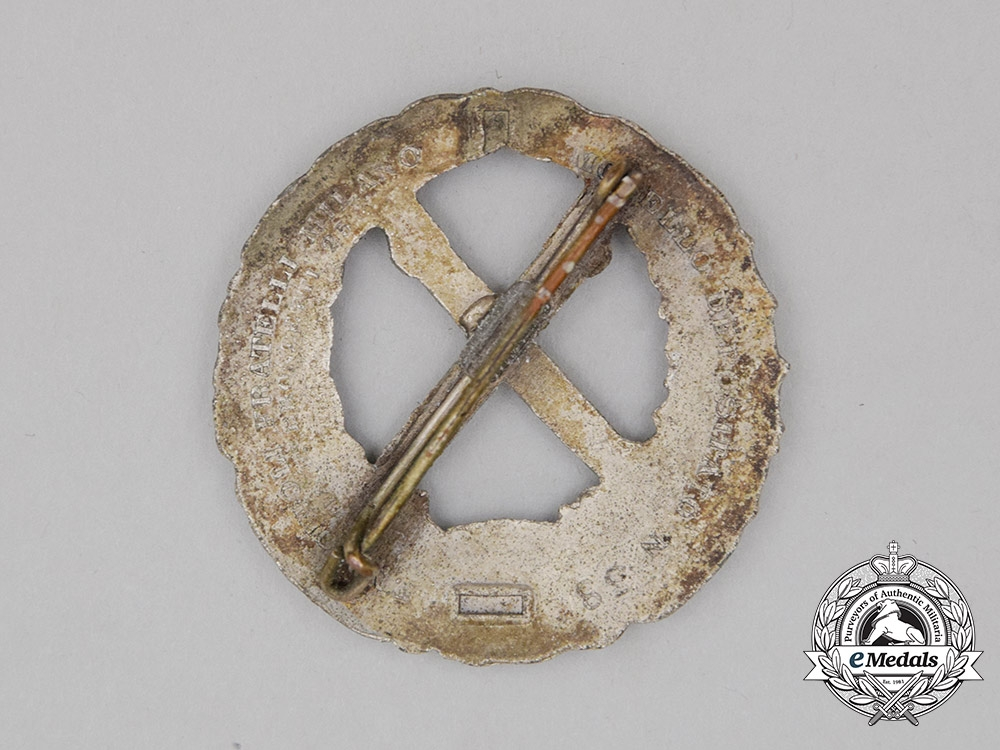 Italy, Fascist State. A Russian Front Badge
