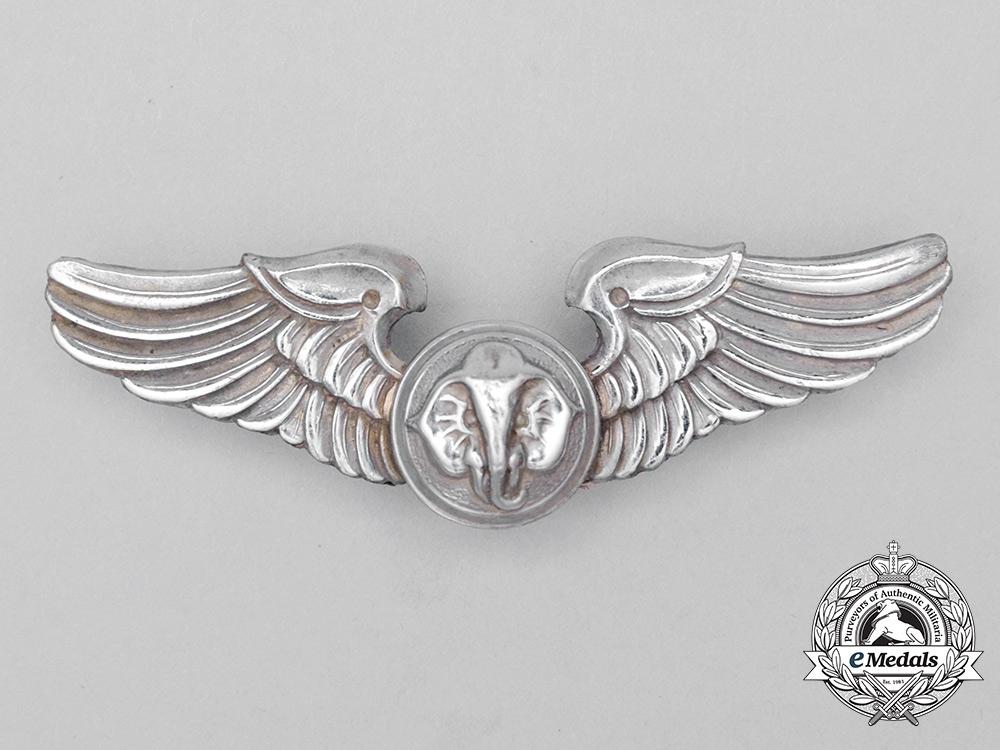 A South Vietnamese Air Force (VNAF) Loadmaster Aviation Badge