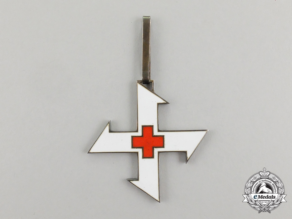 Romania, Kingdom. An Order of the Cross of Queen Marie, 1st Class Commander